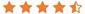 Average Google customer reviews in stars